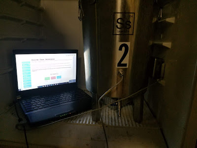 The old laptop I wrote American Sour Beers on...